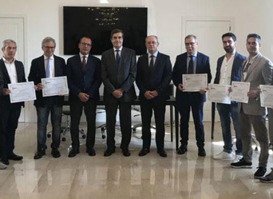 Due geometri biscegliesi tra i premiati dal Prefetto Sensi per lavori post sisma 2016-17
