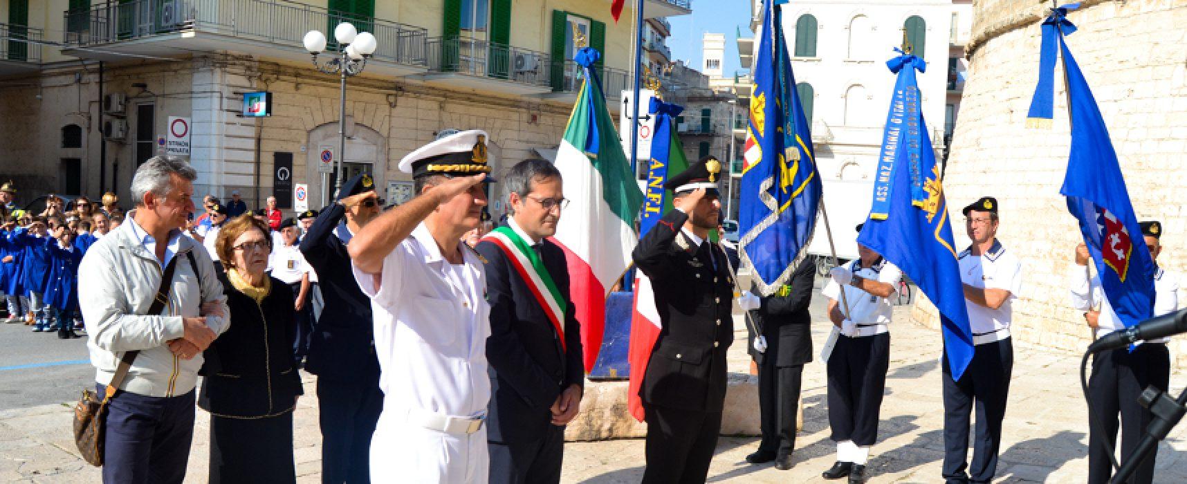 Caduti Corazzata Roma la toccante cerimonia in ricordo delle vittime / FOTO
