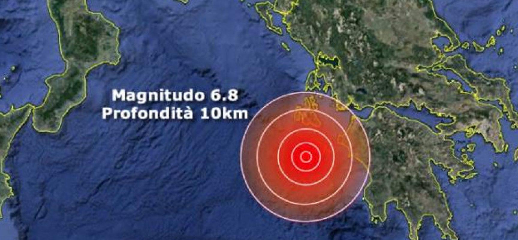 Lunga scossa di terremoto nella notte avvertita a Bisceglie