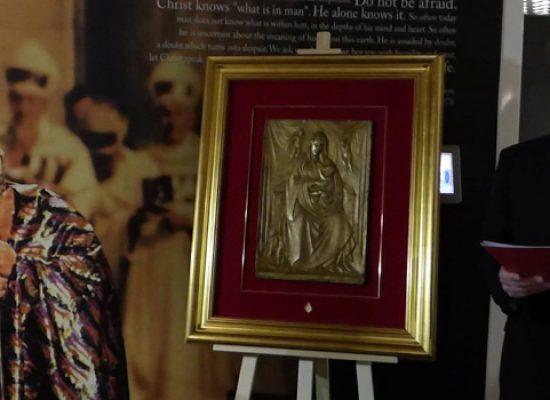 Visita a Bisceglie per il direttoredella Casa Museo di Giovanni Paolo II, Don Pietruszka