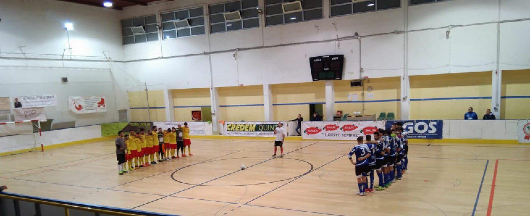 Futbol Cinco ospita il Public Ruvo, Nettuno nella tana del fanalino di coda