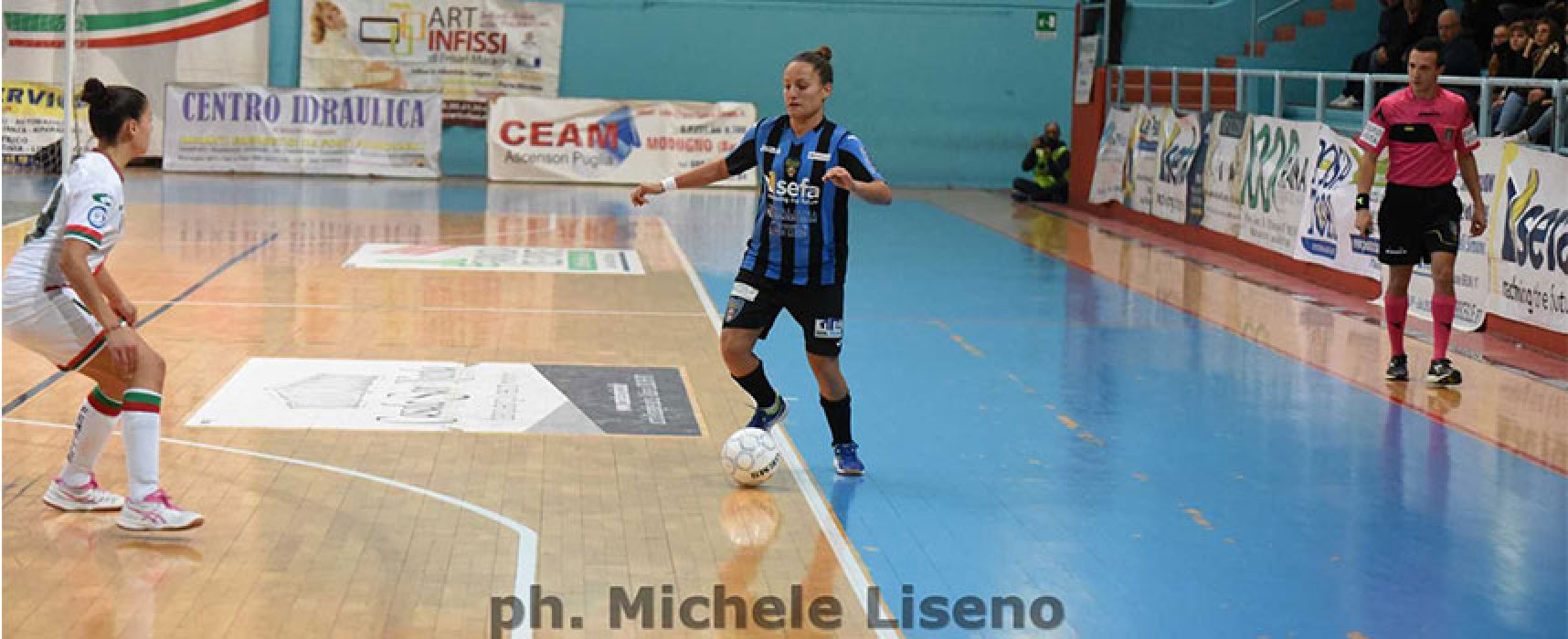 Bisceglie Femminile atteso dalla vice capolista Futsal Florentia