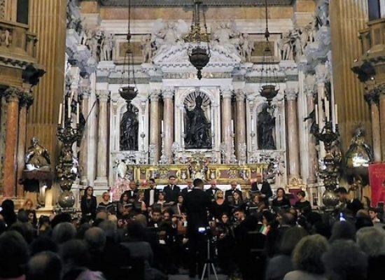 Club per l'Unesco Bisceglie, concerto dei Diritti Umani nella Real Cappella a Napoli