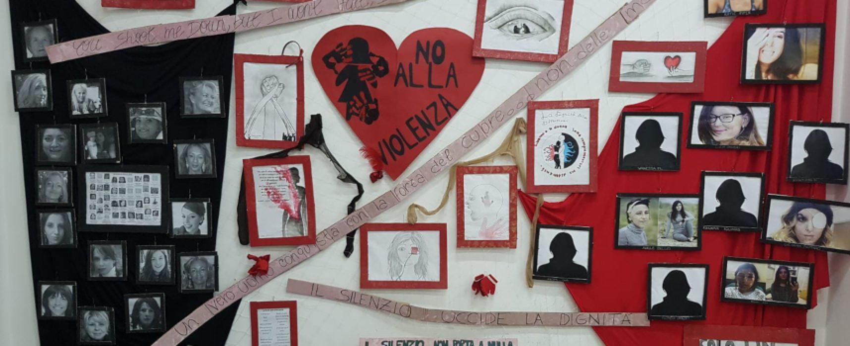 """Scuole """"Dell'Olio"""" e """"Cosmai"""" celebrano la Giornata contro la violenza sulle donne / FOTO"""