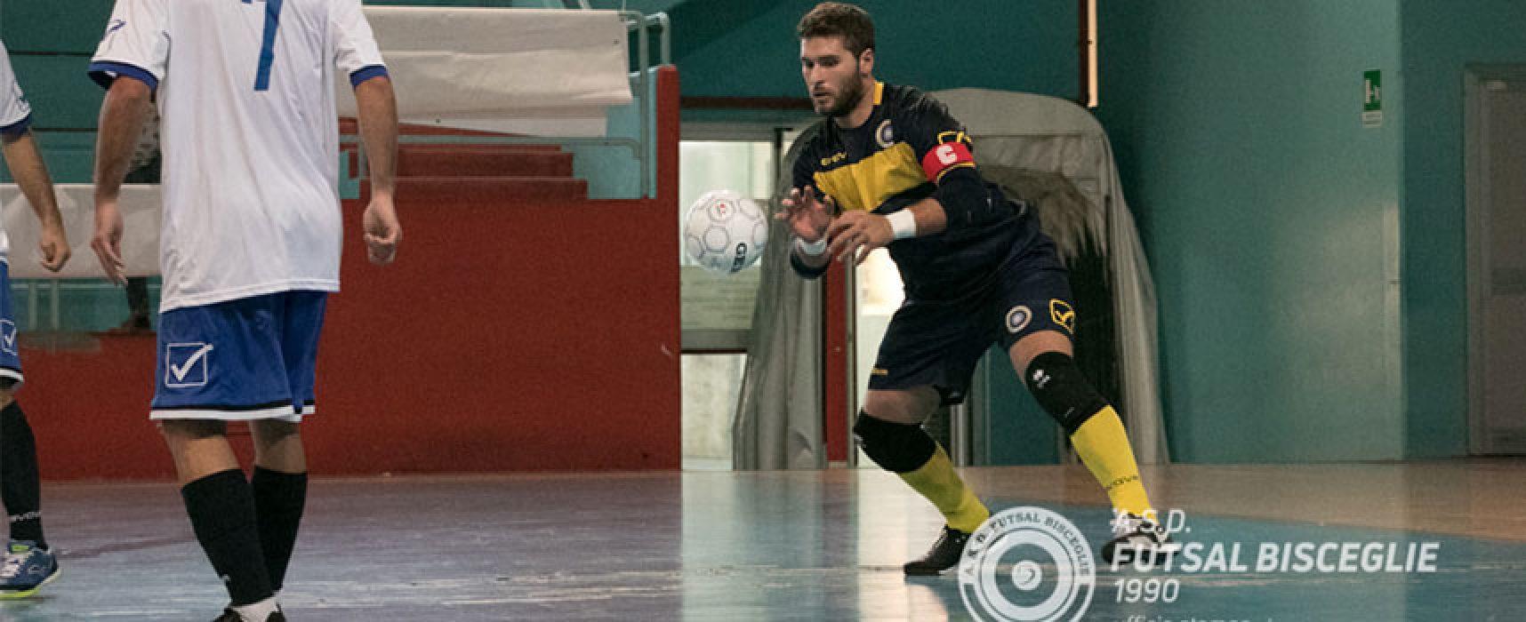 """Futsal Bisceglie, capitan Sinigaglia suona la carica: """"Iniziamo a macinare punti"""""""