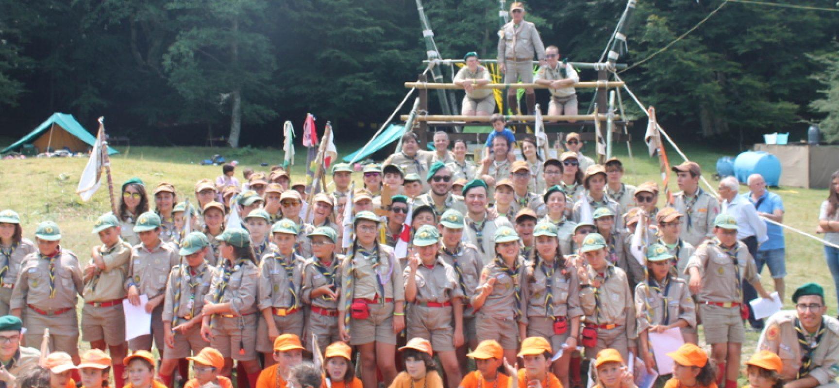 Il Gruppo Scout Bisceglie festeggia 55 anni in piazza San Francesco