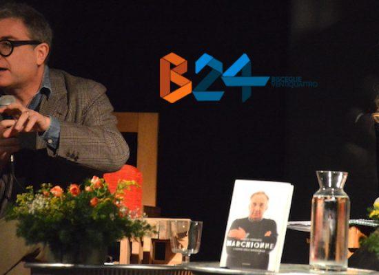 """Marco Ferrante, vicedirettore La7, racconta il """"suo"""" Marchionne alle Vecchie Segherie"""