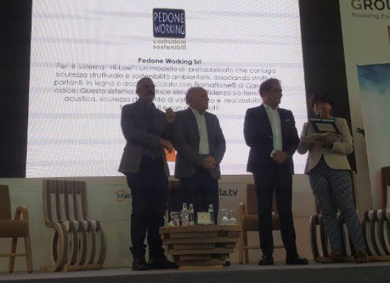 Premio Sviluppo Sostenibile: premiata anche la biscegliese Pedone Working