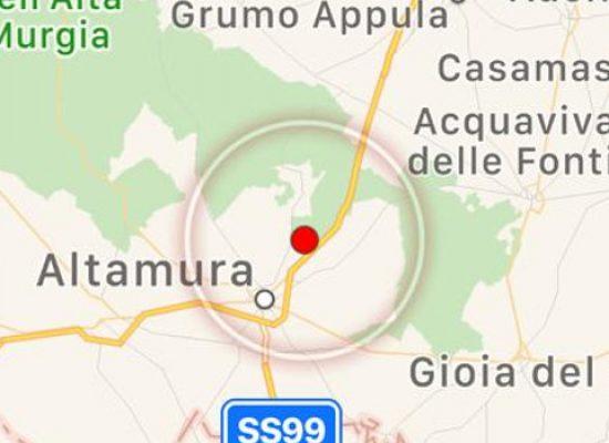 Scossa di terremoto avvertita a Bisceglie, epicentro Altamura