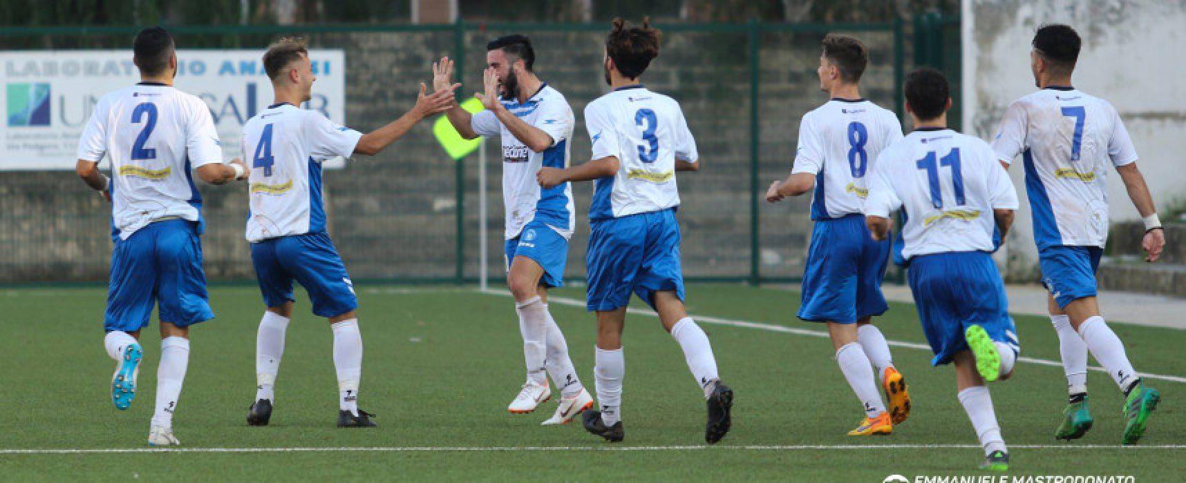 Ostacolo Gallipoli sul cammino dell'Unione Calcio