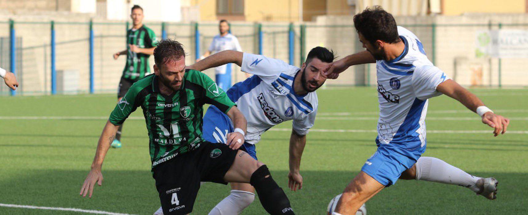 Pari con quattro gol e tanti colpi di scena tra Unione Calcio e Corato