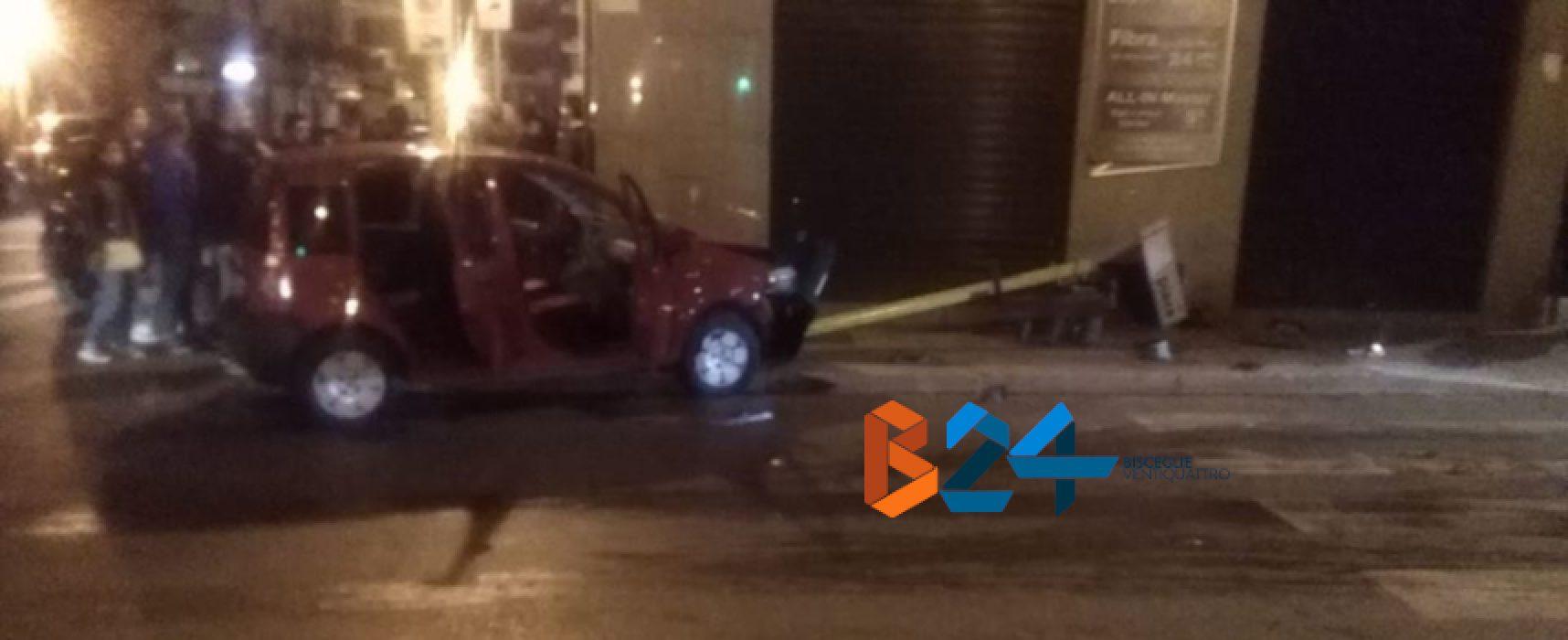 Incidente in via Piave, famiglia trasportata al pronto soccorso
