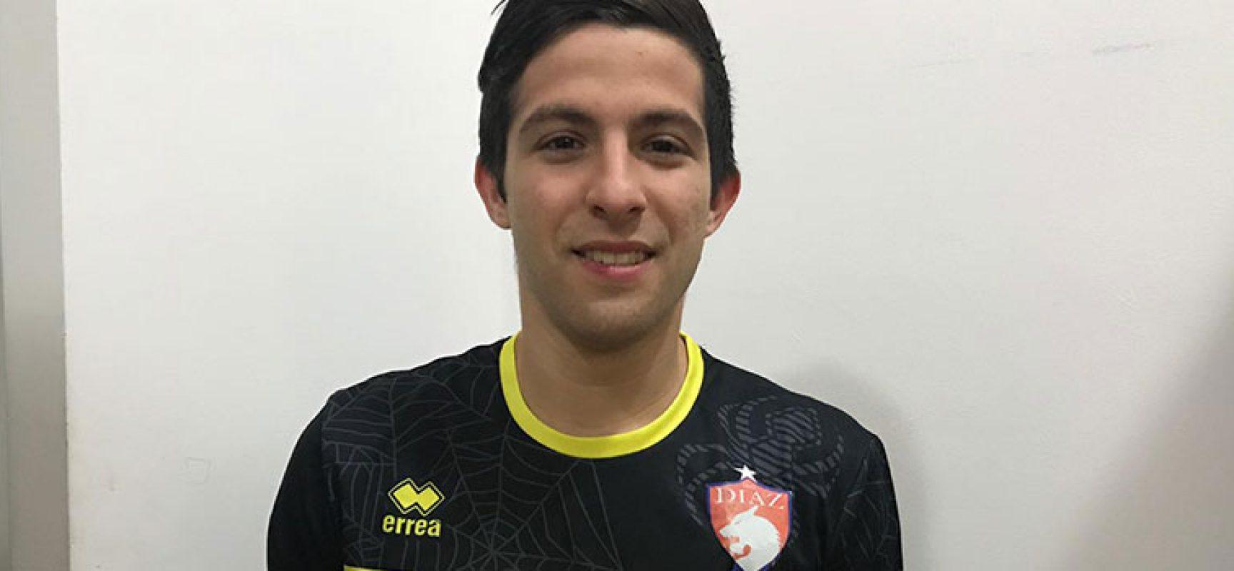 Raphael Giannantonio è il nuovo portiere della Diaz