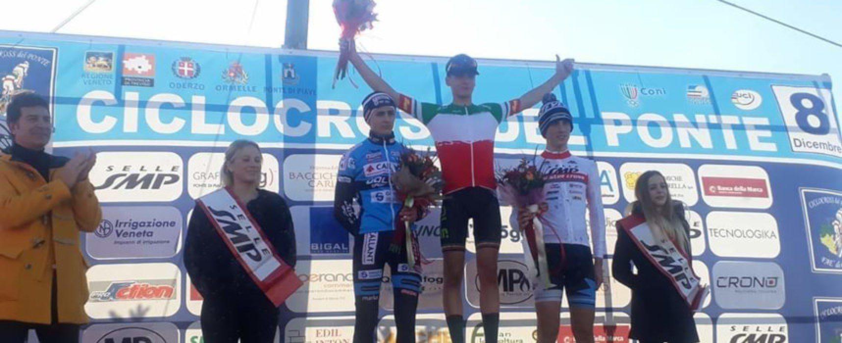 """Ciclismo, Ettore Loconsolo trionfa nel """"Ciclocross del Ponte"""""""