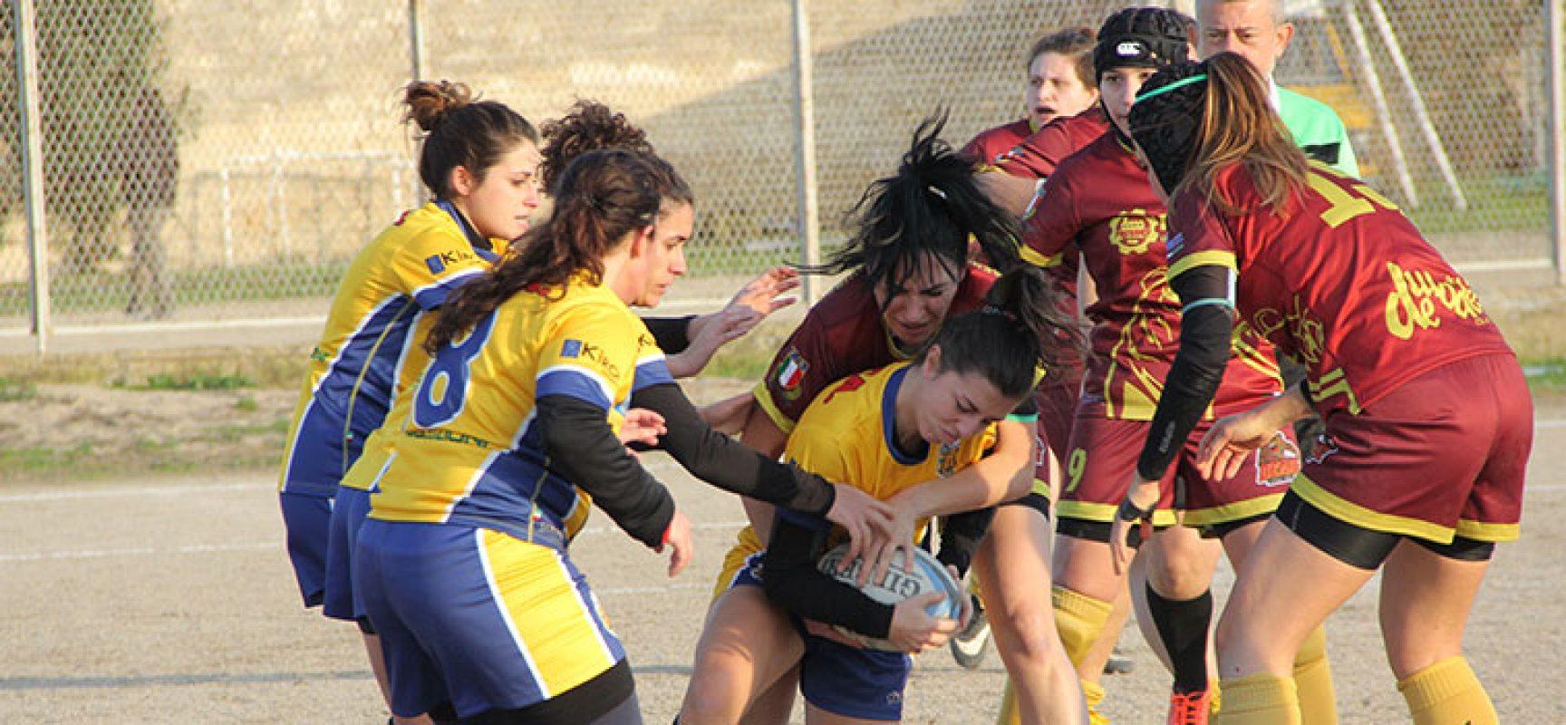 Bees Rugby Bisceglie fa doppietta in Coppa Italia Femminile Seniores / FOTO