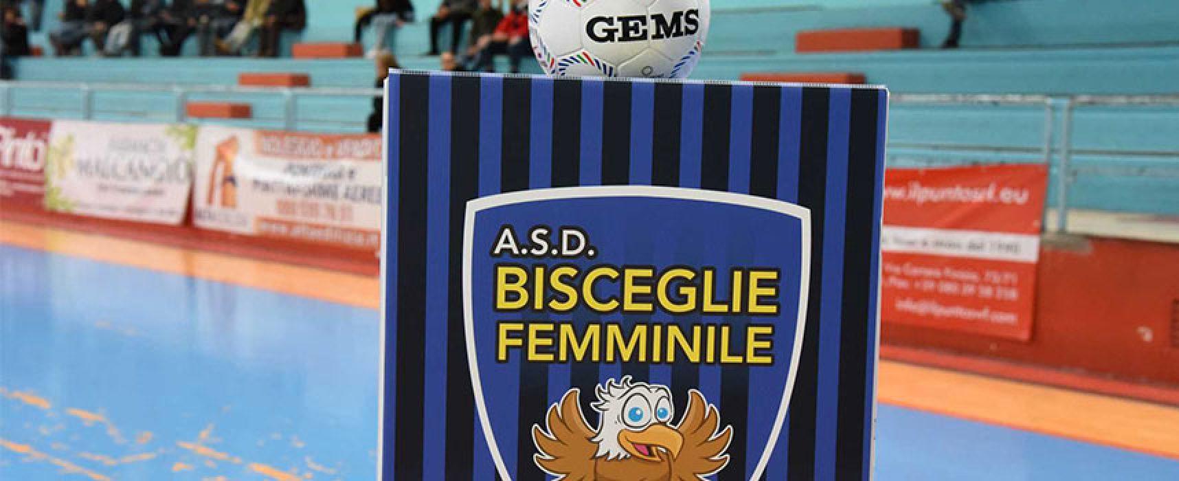 Bisceglie Femminile stasera in cerca di riscatto contro il Futsal Cagliari