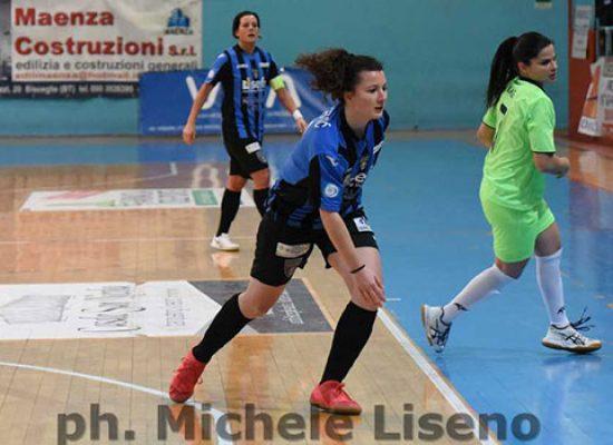 Bisceglie Femminile sconfitta nel finale in casa della Lazio