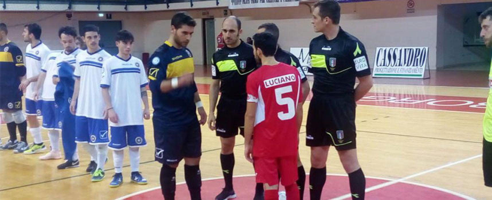 Il Futsal Bisceglie ci prova fino all'ultimo, ma vince il Barletta