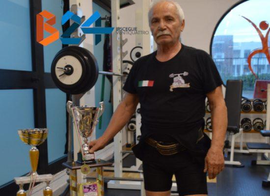 Pesistica, risultati record per il 74enne biscegliese Mauro Mastrapasqua / VIDEO e FOTO