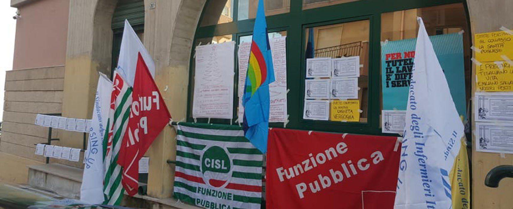 Rinnovo contratto infermieri Asl Bat, prosegue lo stato di agitazione sindacale