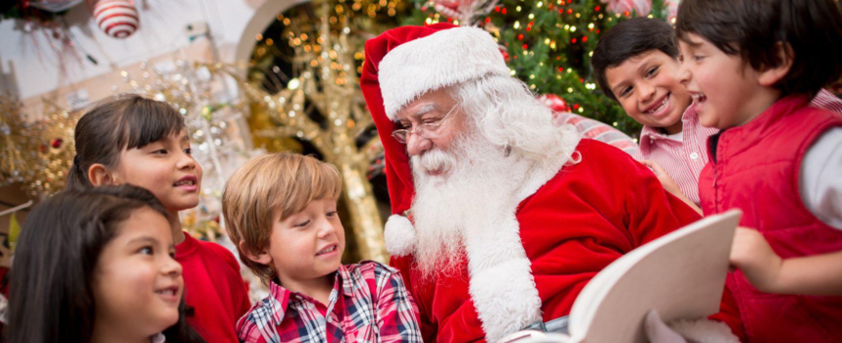 """""""Natale in sanitaria"""", Babbo Natale incontra i bambini"""