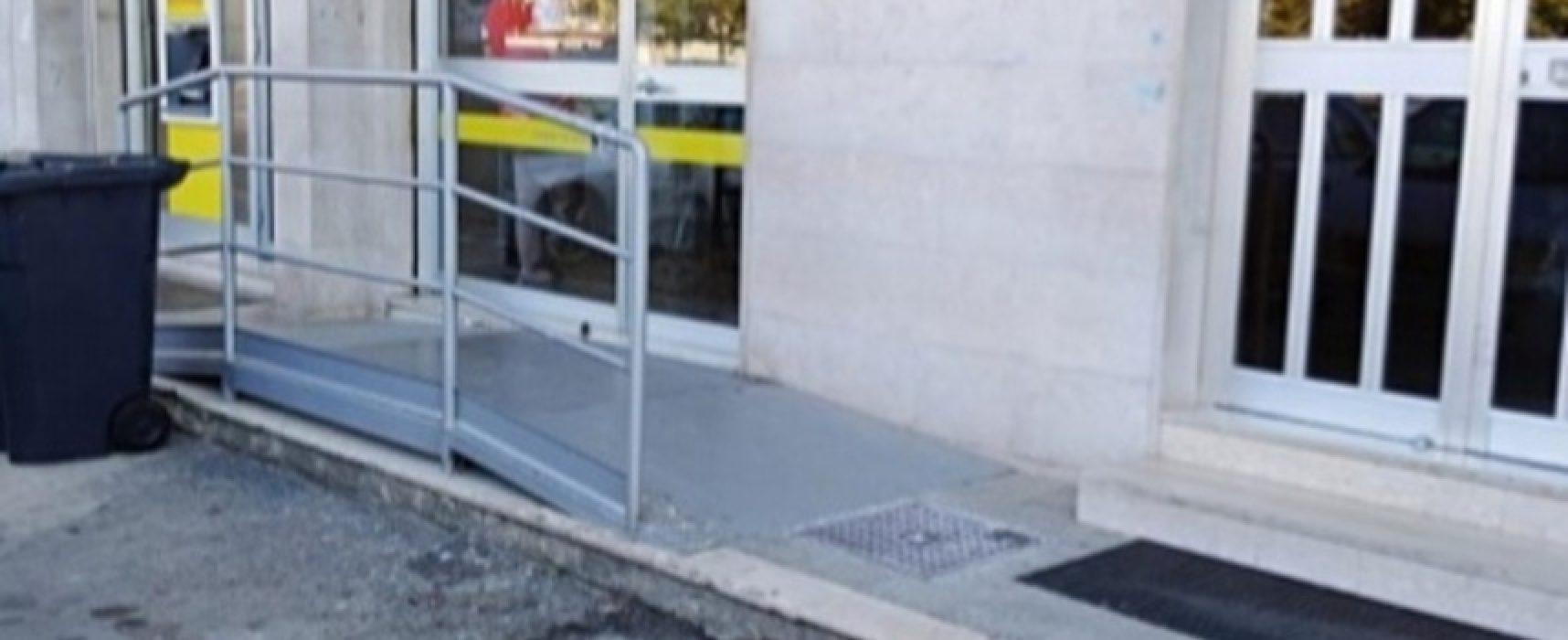 Difendiamo Bisceglie denuncia ufficio postale di via Carrara Reddito per barriere architettoniche