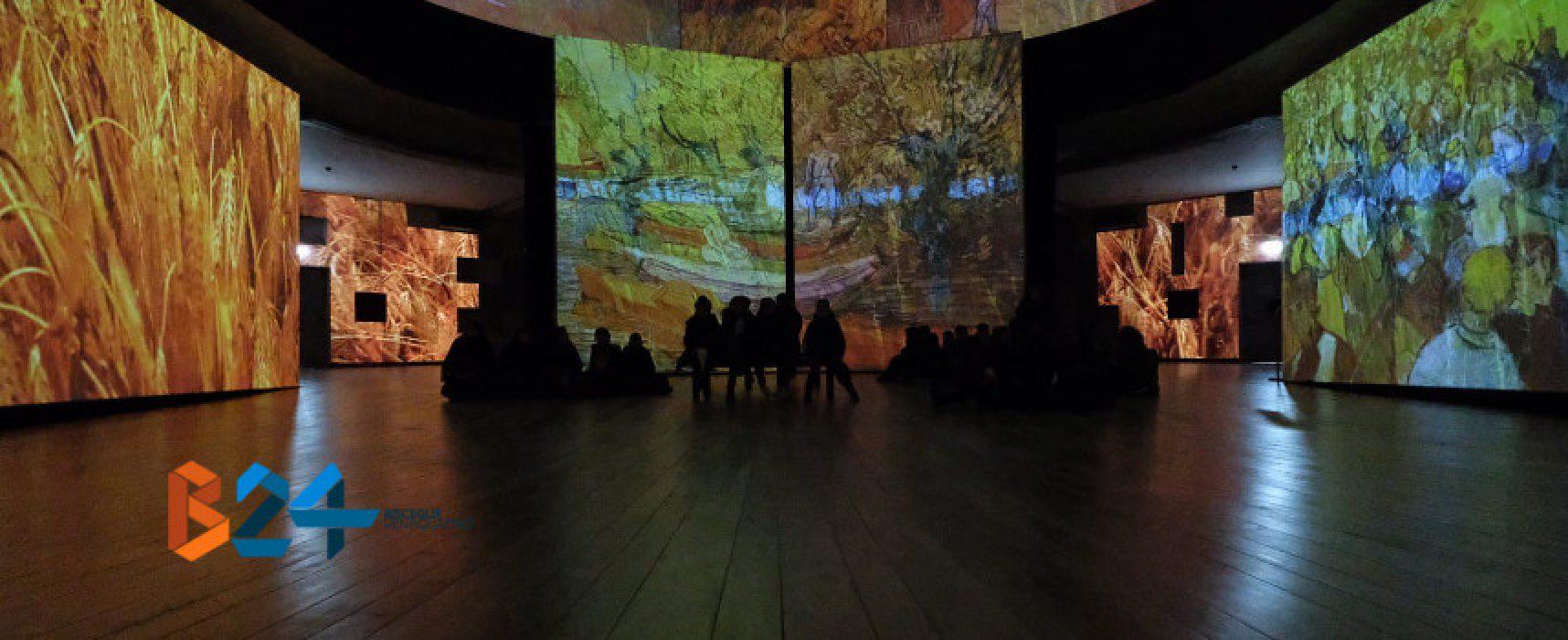 """La scuola primaria San Giovanni Bosco alla """"Van Gogh alive – The Experience"""" di Bari"""