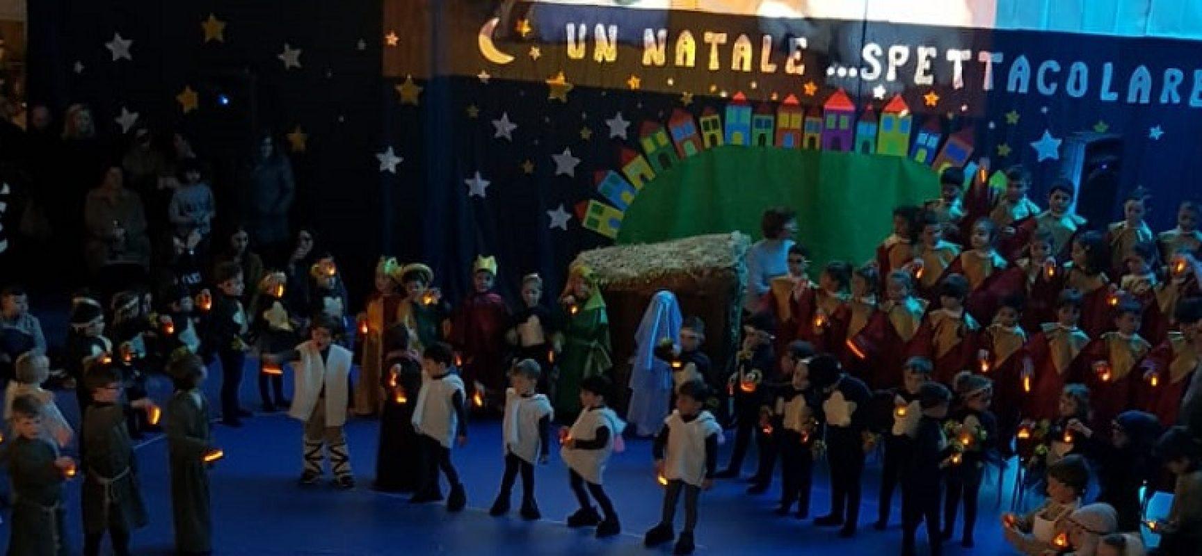 """""""Un Natale spettacolare"""", la recita dei bambini del 3° Circolo ripercorre la storia del presepe"""
