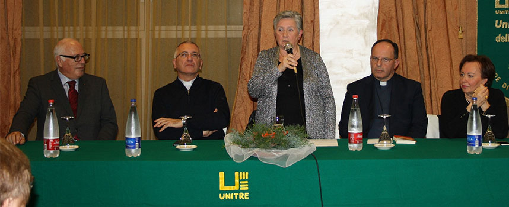 Unitre, cerimonia d'inaugurazione del nuovo anno associativo con Monsignor D'Ascenzo