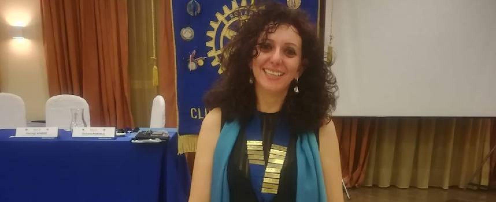 """Nadia Di Liddo su giro di boa anno Rotary: """"Si è verificato effetto domino in cui speravamo"""""""