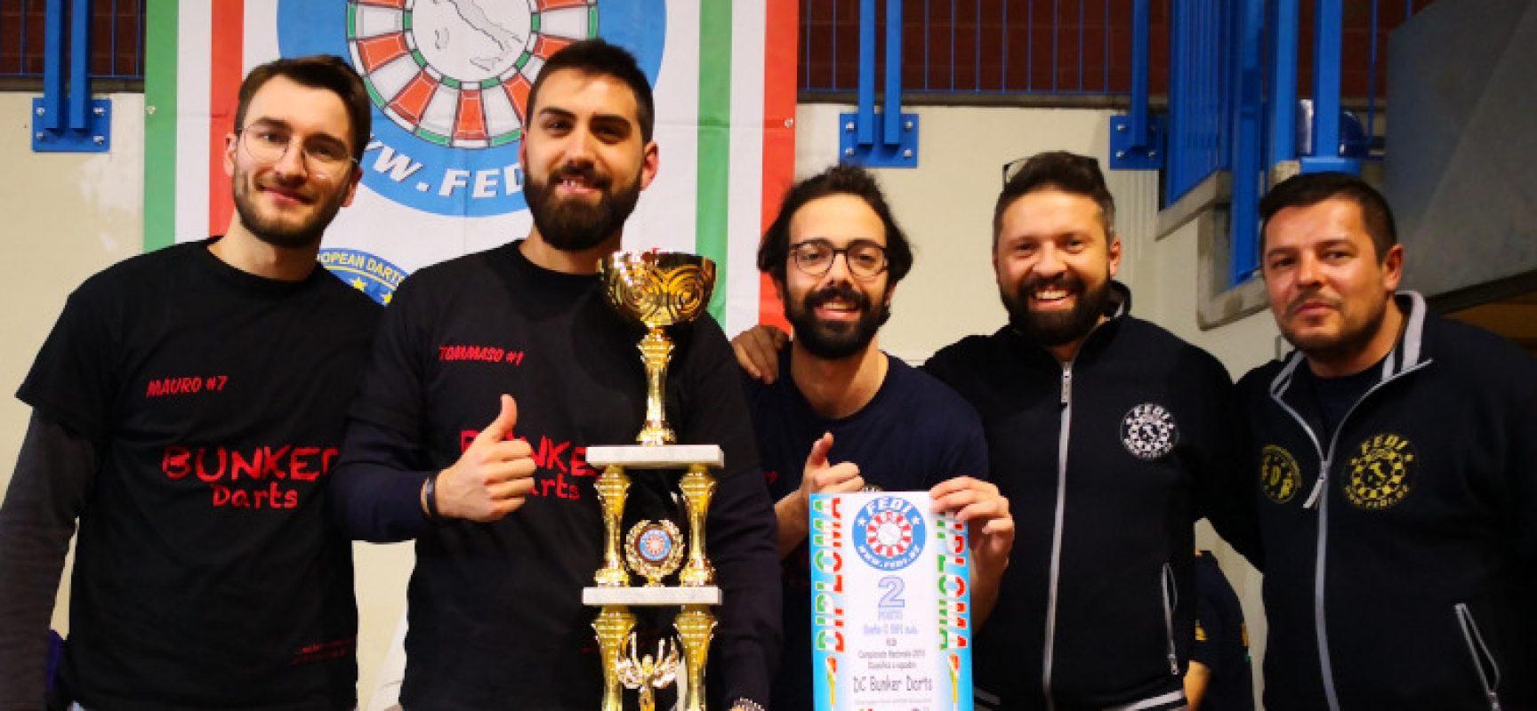 Soft Dart, l'Apulia Golden Dart si laurea vicecampione d'Italia con il Team Bunker Dart