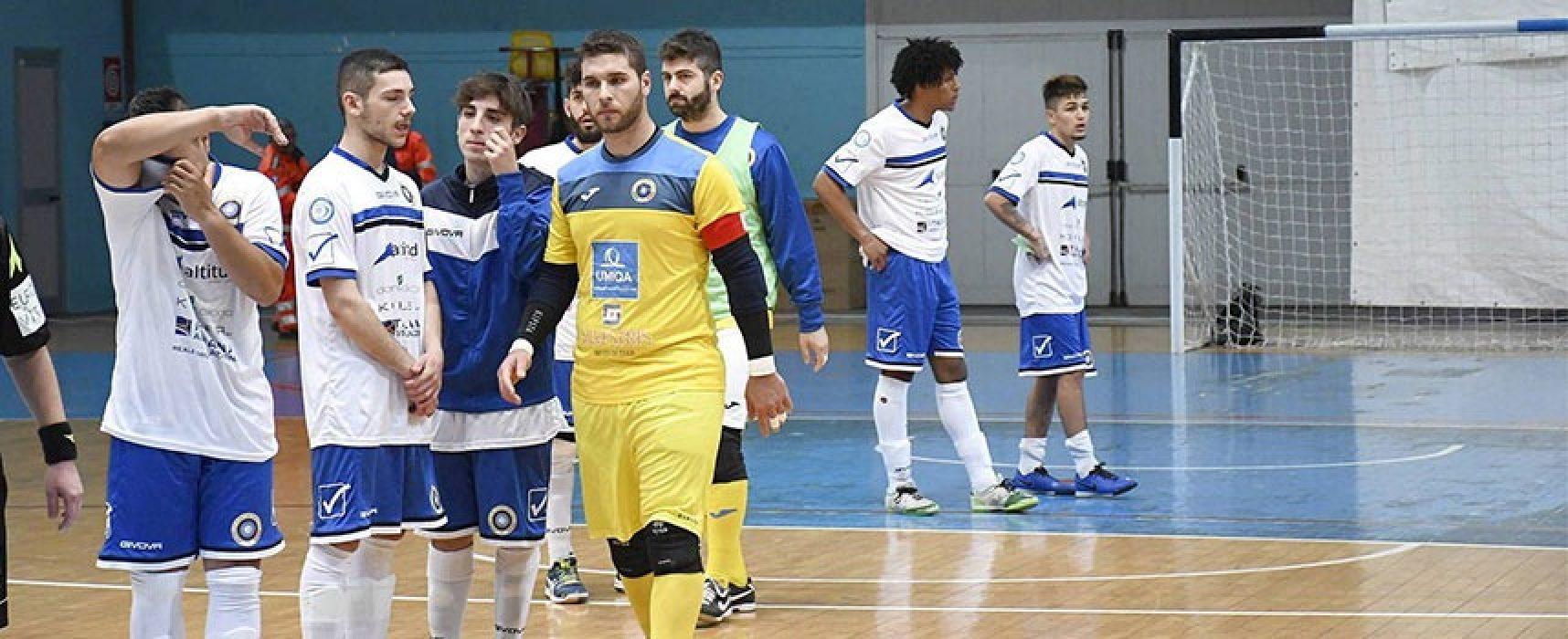 Il Futsal Bisceglie lotta ma cade sul campo del Cobà