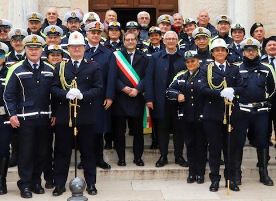 """Festa Polizia Locale, Comandante Dell'Olio: """"Nel 2018 sanzioni per 1 milione di euro totali"""""""