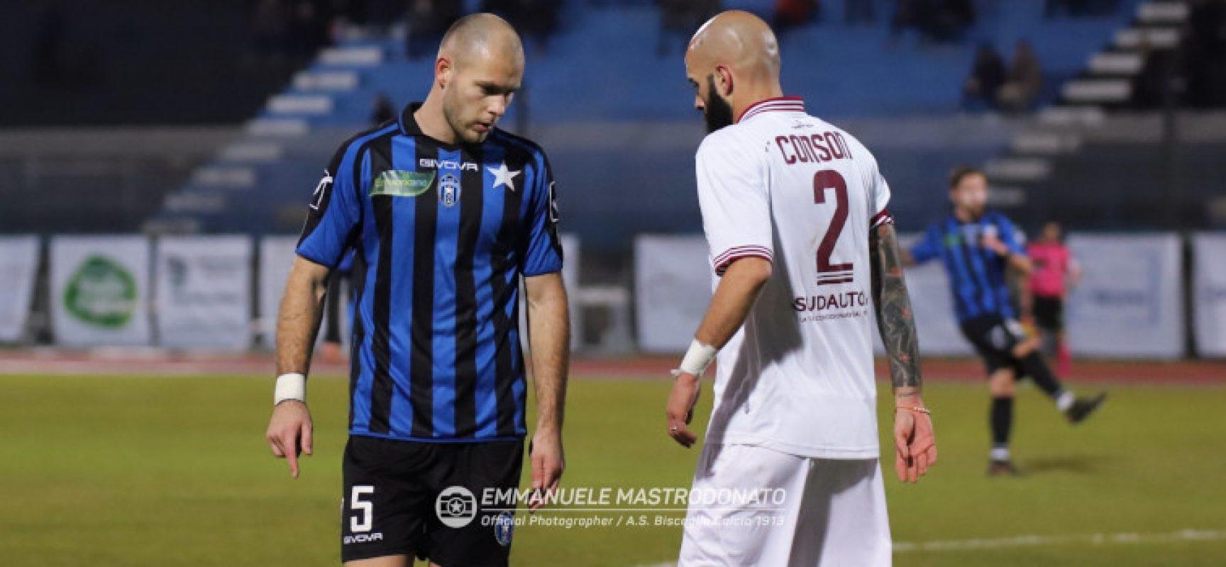 Il Bisceglie Calcio incassa una secca sconfitta contro la Casertana