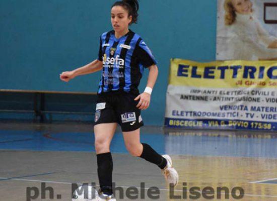 Domenica al PalaDolmen l'atteso derby tra Bisceglie Femminile e Futsal Salinis