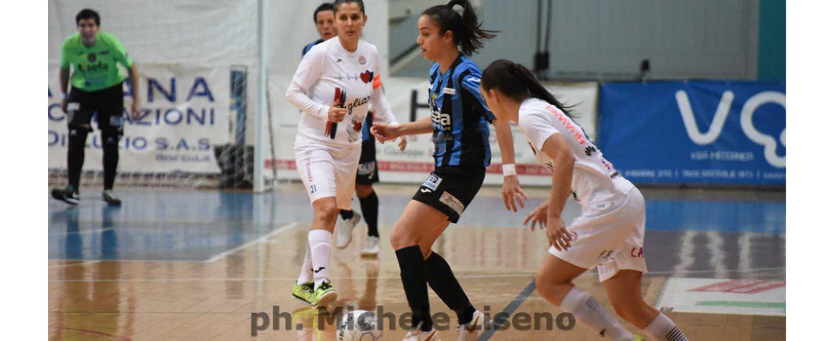 Calcio a 5: il Bisceglie Femminile cede in casa, alla Salinis il derby