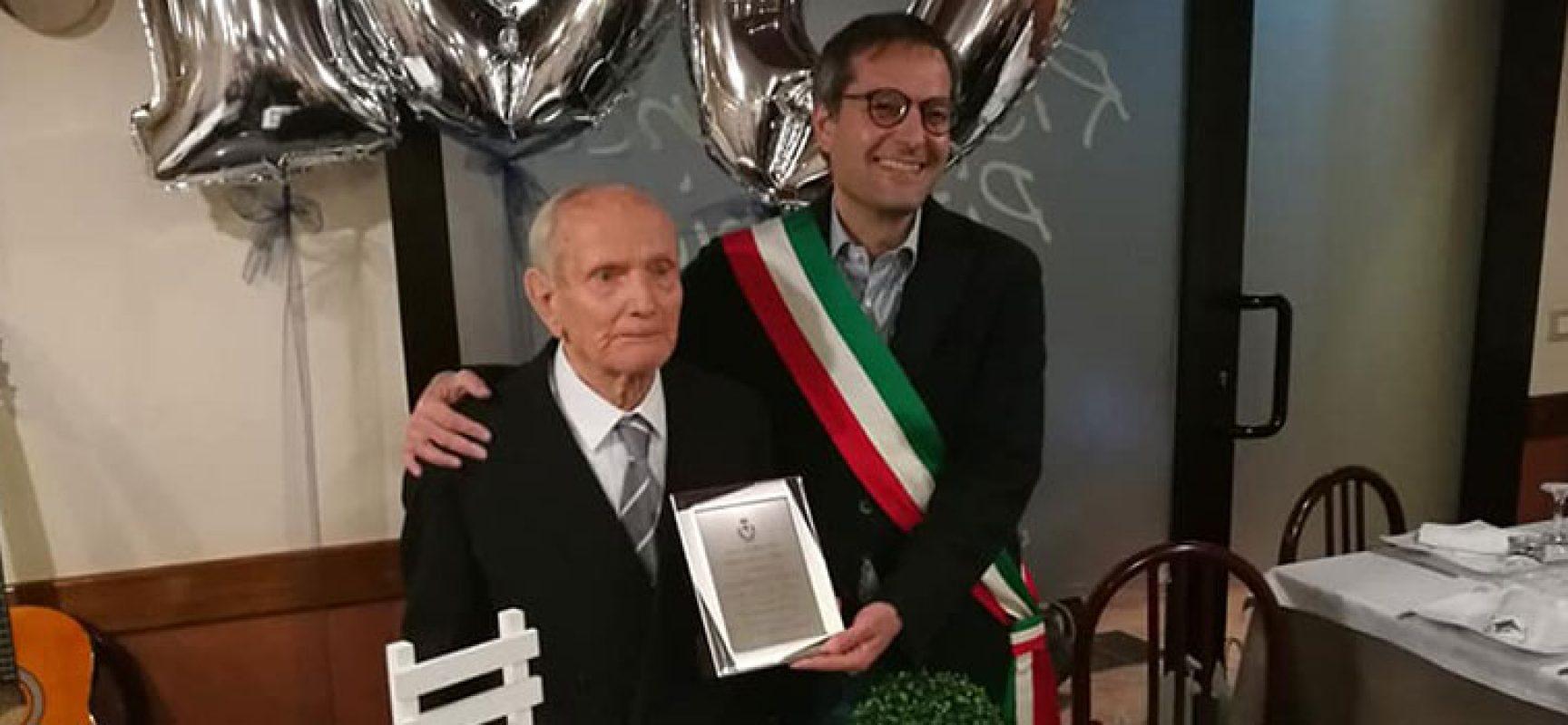 Il biscegliese Leonardo Cassanelli entra nel club dei centenari