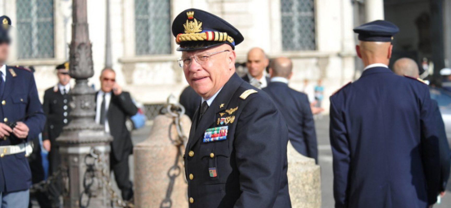 """""""La difesa dell'Europa"""", il Generale Preziosa ha presentato il suo libro a Bisceglie"""