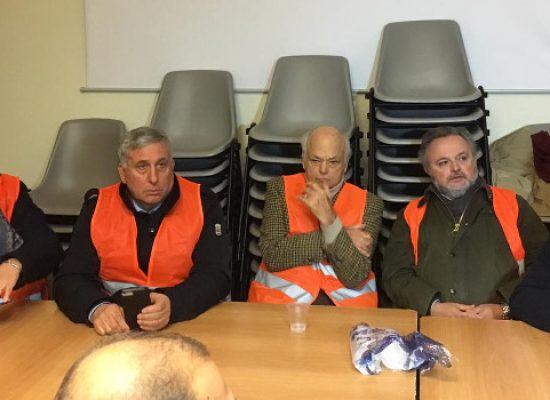 Gilet arancioni incontrano il Ministro Centinaio a Roma