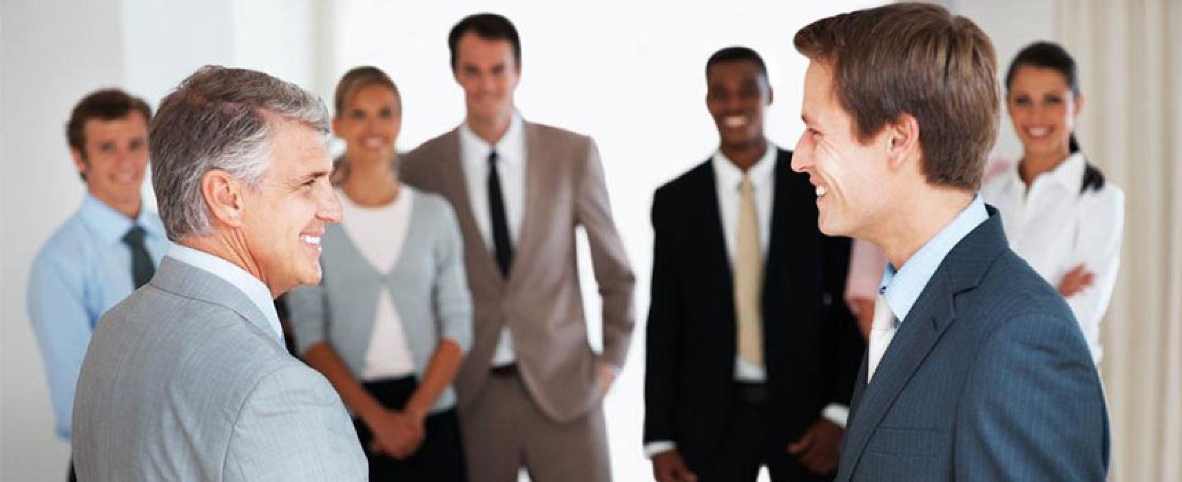 Imprenditori ed aziende protagonisti di un evento su dinamiche di vendita