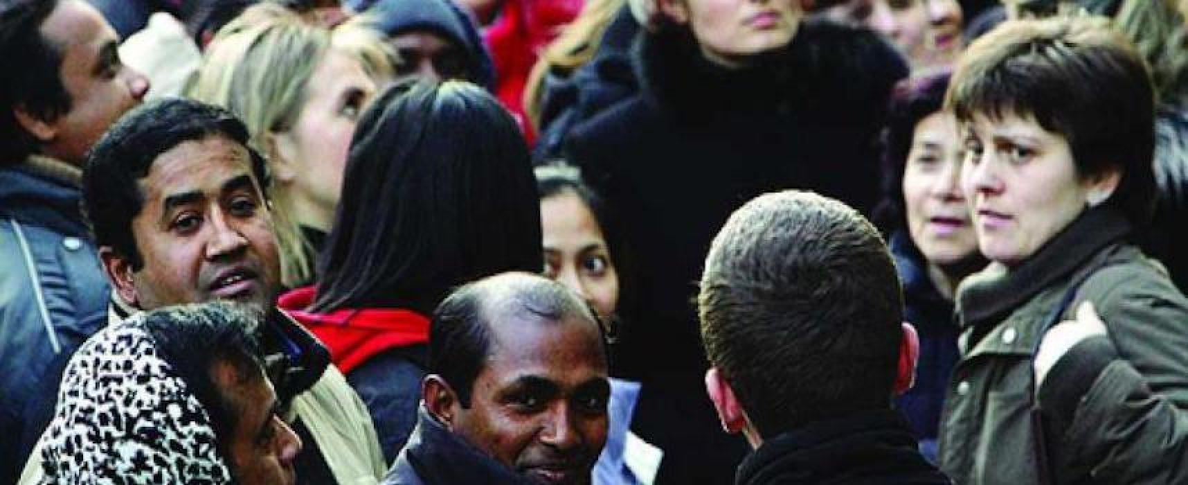 In aumento cittadini stranieri a Bisceglie: maggioranza rumena