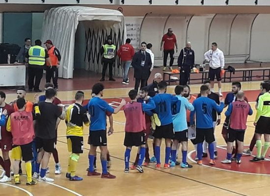 Coppa Puglia: Futbol Cinco, il sogno finisce in semifinale