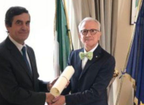 L'ingegnere biscegliese Sergio Caggianelli nominato Cavaliere della Repubblica