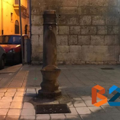 L'acqua della fontanina in zona San Lorenzo non è potabile, emesso il divieto di utilizzo