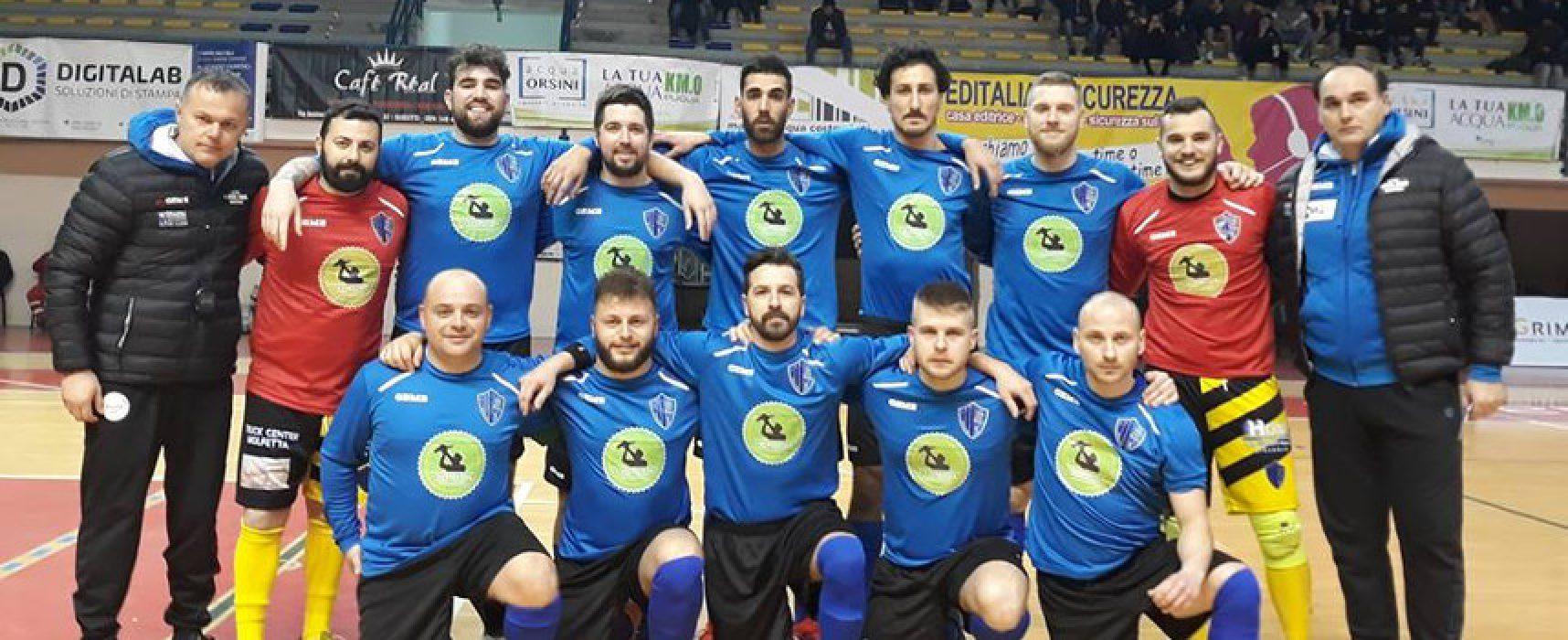 Calcio a 5, serie C2: Big match per il Futbol Cinco, riposo per il Nettuno