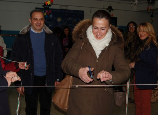 Atelier ludico-motorio inaugurato in via Martiri di via Fani / FOTO