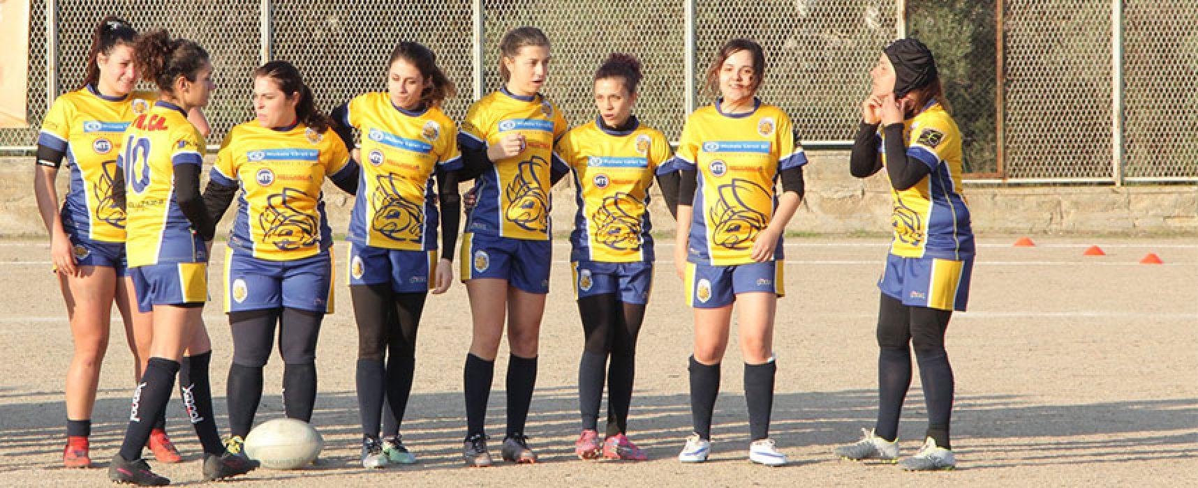 Terza vittoria consecutiva per la Bees Rugby Bisceglie nella Coppa Italia Femminile Seniores