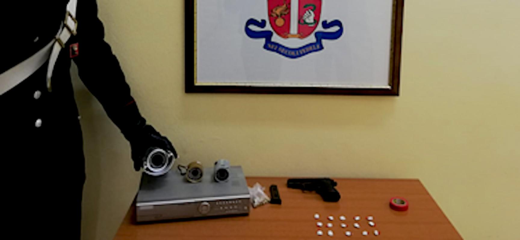Arrestati due coniugi per detenzione droga a fine spaccio e arma da fuoco clandestina
