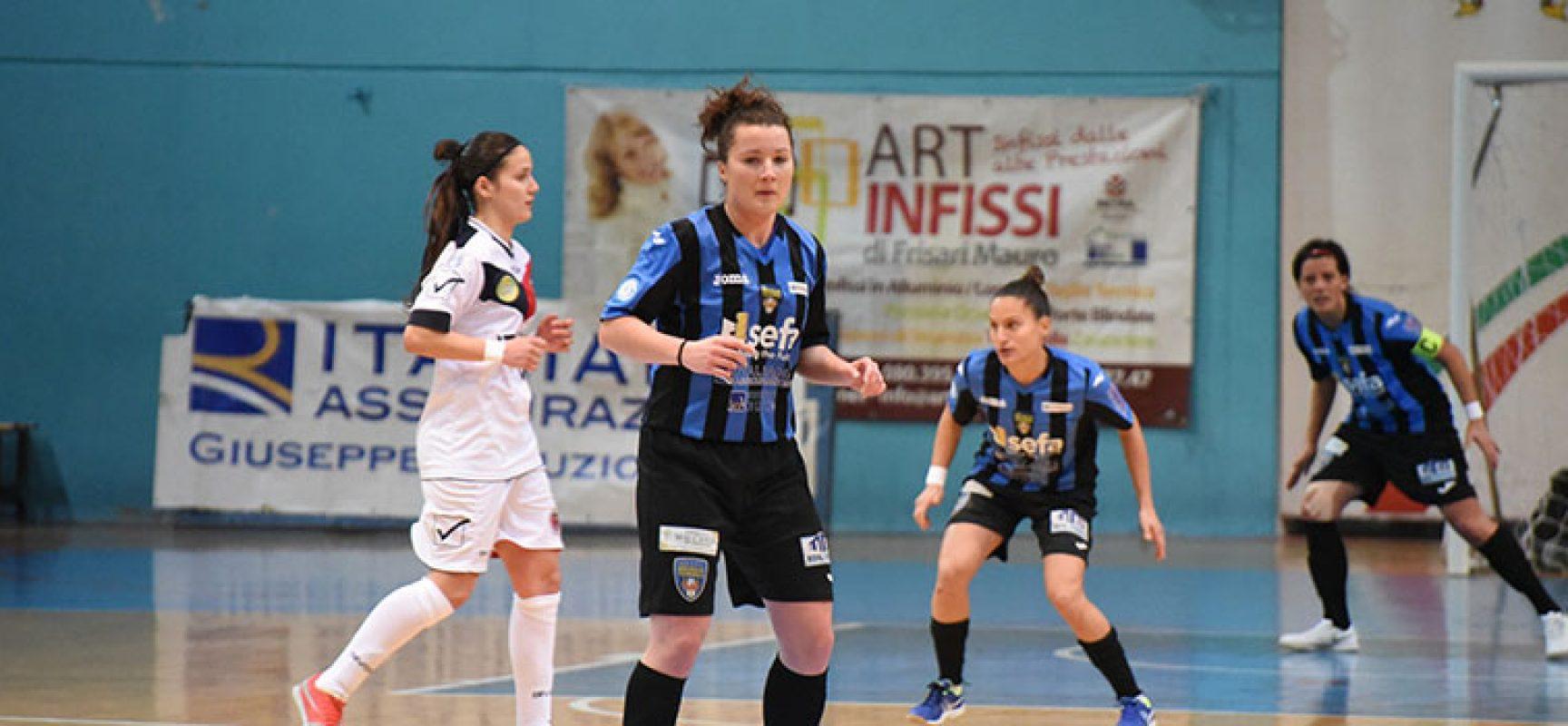 Il Bisceglie Femminile inciampa nuovamente con il Futsal Breganze
