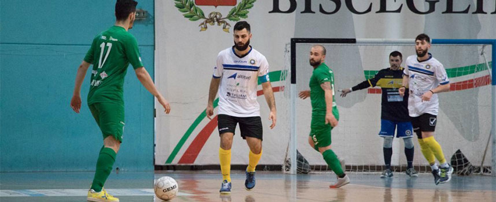 Obbligo vittoria per il Futsal Bisceglie contro il Marigliano